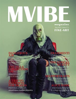 MVIBEmagazine August 2021 issue 27.1 Fine Art