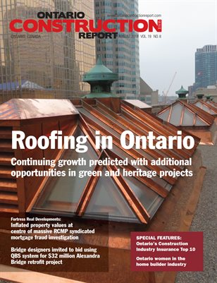 Ontario Construction Report (August 2018)