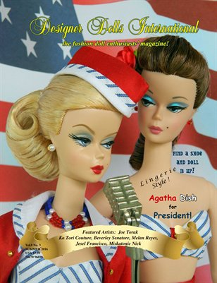 Designer Dolls International - Summer 2016