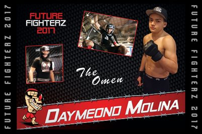 Daymeond Molina Cal Poster 2017