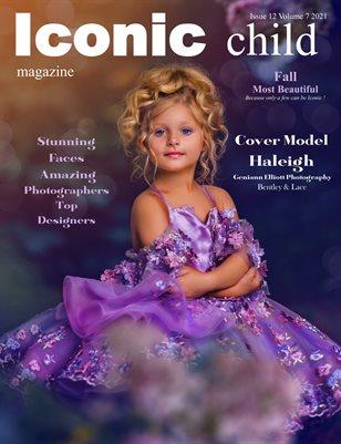 Iconic Child Magazine Issue 12 Volume 7 2021 Fall Most Beautiful