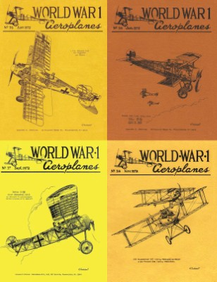 WW1 Aero 1972 Collection: Issues 35-38