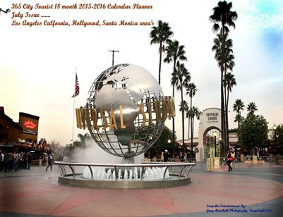 Gary Marshall 365 Tourist City 2015-16 yearly 18 month Daily Planner Calendar