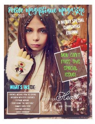 "Petite Magnifique December 2015 ""A Merry Special Edition"""