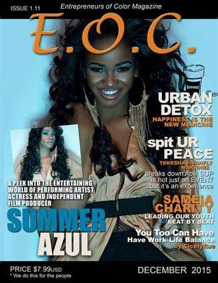 Entrepreneurs of Color Magazine (December 2015)