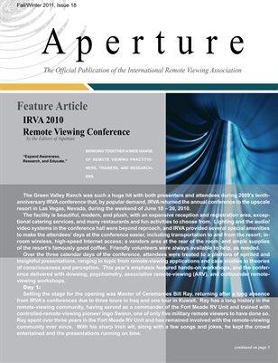 APERTURE, 2011, Issue 18