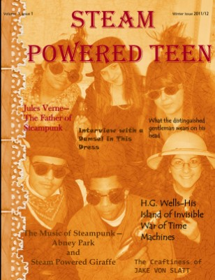 Steam Powered Teen Issue 1