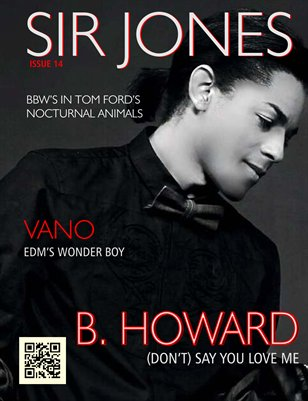 Sir Jones Magazine :: Issue 014 :: B. Howard Cover