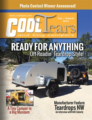Cool Tears and Tiny Campers Magazine - July / August 2014