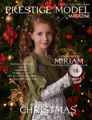 PRESTIGE MODELS MAGAZINE _ Christmas 1/12