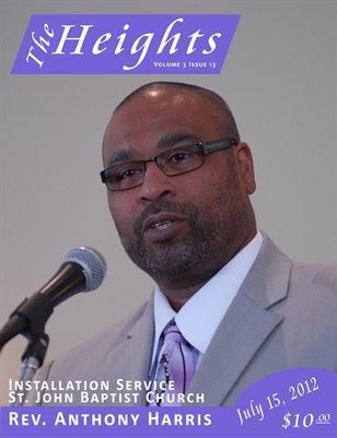 Volume 3 Issue 13 - Installation Service Rev. Anthony Harris