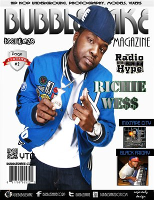Bubble Shake Magazine issue 29 (Radio Hype)