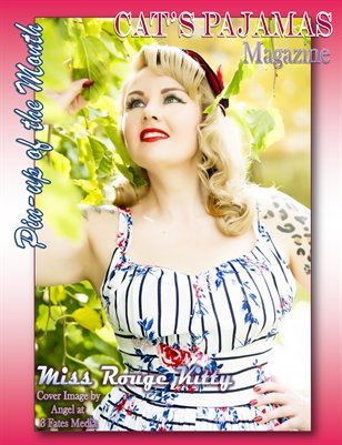 Pinup of the Month Miss Rouge Kitty