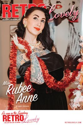 Holidays 2020 Miss Rubee Anne Cover Poster