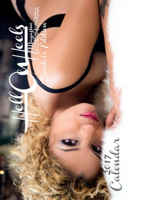 2017 Hell on Heels Magazine Boudoir Calendar