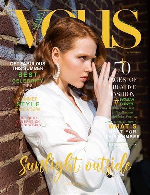 VOUS Magazine | The June Fashion & Beauty Edition | Vol.9 | 2021