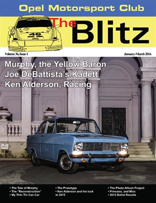 The Blitz, January - March 2016