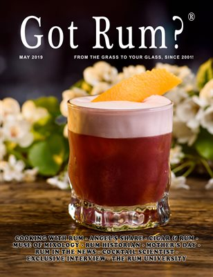 """""""Got Rum?"""" May 2019"""