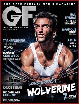 Geek Fantasy - May/June 2014 - Variant: Wolverine