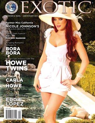 EXOTIC Adventure & Travel Magazine Anniversary  Issue 2011