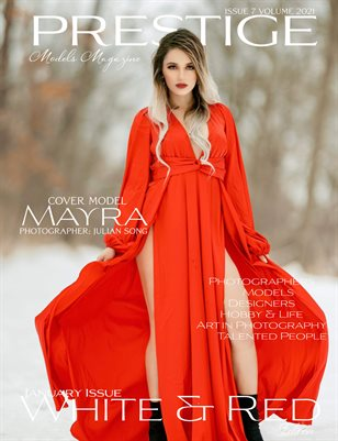 Prestige Models Magazine_ White & Red 7/2021