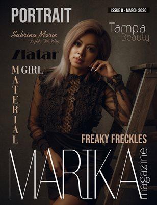 MARIKA MAGAZINE PORTRAIT (March - issue 8)