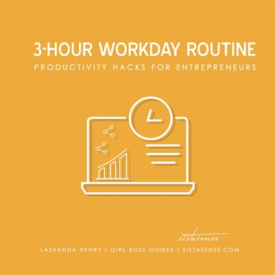 3-Hour Workday Routine Productivity Hacks for Entrepreneurs