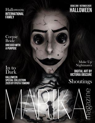 MARIKA MAGAZINE Halloween (ISSUE 280 - OCTOBER)