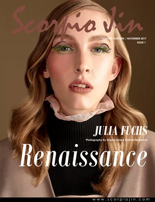 SCORPIO JIN MAGAZINE VOLUME FOURTEEN | NOVEMBER 2017 | ISSUE 1