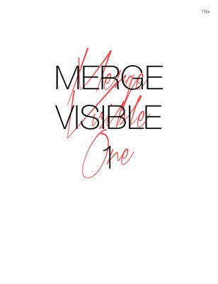 MERGE VISIBLE 1