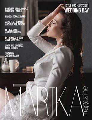 MARIKA MAGAZINE WEDDING DAY (ISSUE 1160 - JULY)