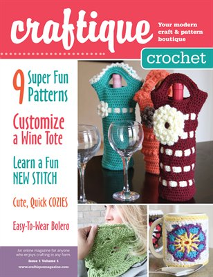 Craftique Crochet Magazine - Issue 1 Volume 1