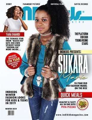 INDIKIDS WINTER 2019 ISSUE SUKARA COVER