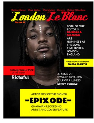 London Le'Blanc Magazine Vol. 42