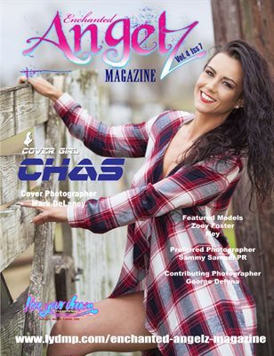 ENCHANTED ANGELZ MAGAZINE - Cover Girl Chas - June 2017