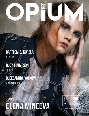 Opium Red Magazine #02 Fashion Issue February 2020