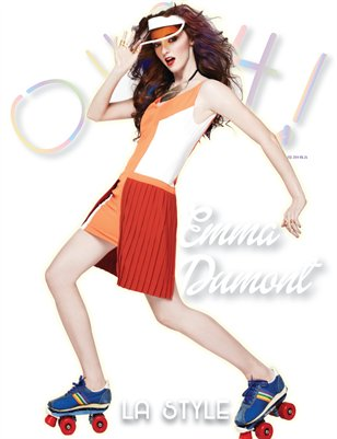 "Emma Dumont  ""LA Girls Issue' Vol. 26"