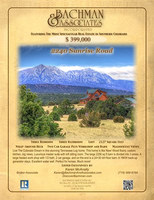2240 Sunrise Road Silver Spurs