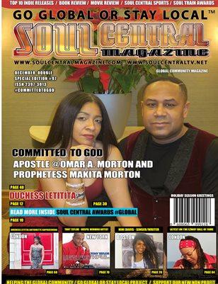 Soul Central Magazine Edition 97 Pastor Omar Norton