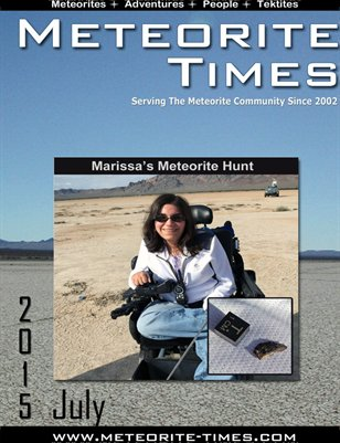 Meteorite Times Magazine - July 2015 Issue