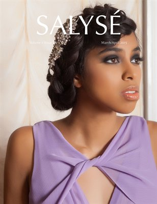 SALYSÉ Magazine | Vol 1:No 3/4 | March/April 2015 | Isabel Cover