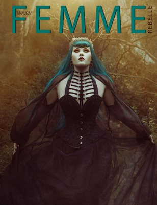 Femme Rebelle Magazine March 2021 - Jamie Mahon Cover