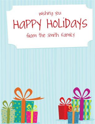 Collection Templates - Holiday Greetings | Magcloud