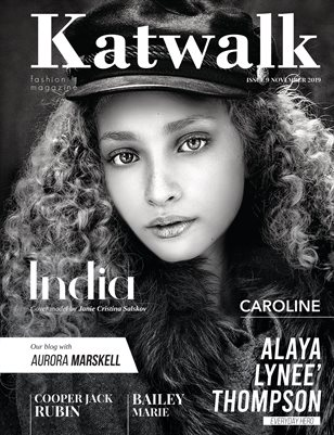 Katwalk Fashion Magazine Issue 9 November 2019.