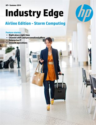 HP Industry Edge: Airline edition: Storm Computing