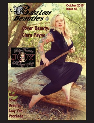 Baba Lous Beauties-Anything Pin Up Issue 42: October 2016