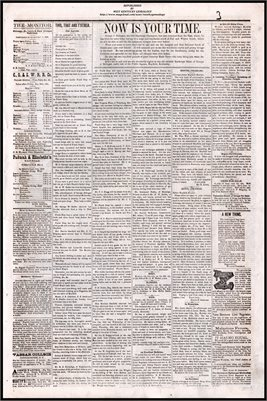 (PAGES 3-4) OCTOBER 01, 1881 MAYFIELD MONITOR NEWSPAPER, MAYFIELD, GRAVES COUNTY, KENTUCKY