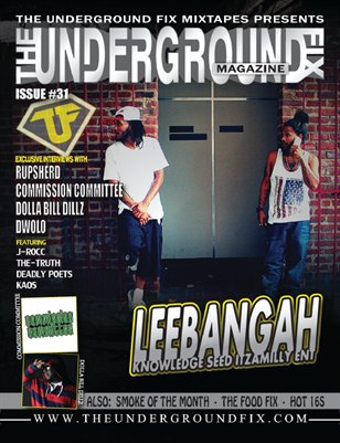 The Underground Fix Magazine Issue #31