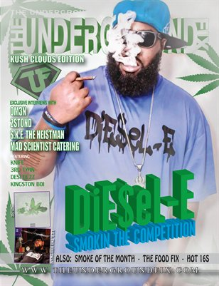 The Underground Fix Magazine 'Kush Clouds Edition'