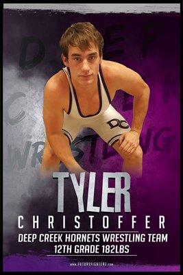 Tyler Christoffer DC #2 Poster